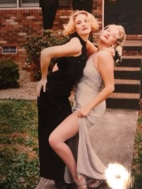 Senior Prom with my friend Summer.